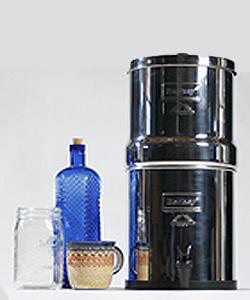 berkey bk4x2bb big berkey stainless steel water filtration system
