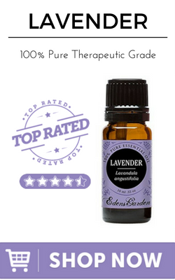 Lavender 100% Pure Therapeutic Grade Essential Oil by Edens Garden