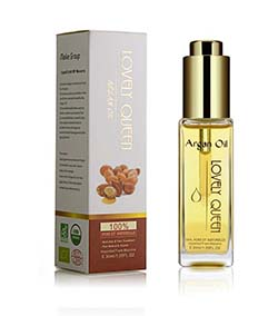 Organic Argan Oil for Hair Face & Skin