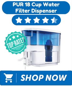 PUR 18 Cup Water Filter Dispenser