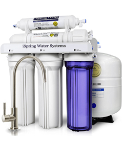 RCC7-5 Stage Residential Under Sink Reverse Osmosis Water Filtration System