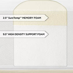 Shiloh 12-inch Memory Foam Mattress by Sleep Innovations