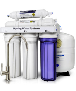 iSpring RCC7 5-Stage Residential Under Sink Reverse Osmosis Water Filter