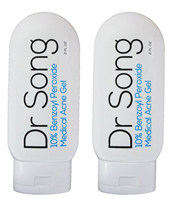 10% Benzoyl Peroxide Acne Cream Gel Dr Song Spot Treatment Lotion