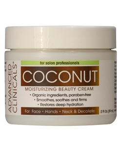 Advanced Clinicals Coconut Cream