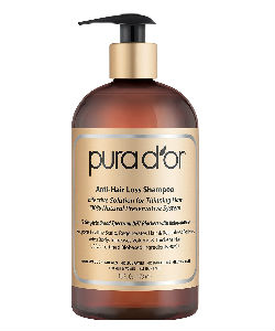 Anti-Hair Loss Premium Organic Argan Oil Shampoo Pura DOr