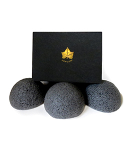 Eco-Friendly 3 Pack Bamboo Medium Konjac Sponge