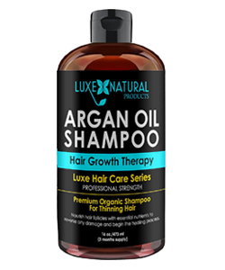 Luxe Natural Argan Oil Shampoo