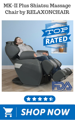 MK-II Plus Shiatsu Massage Chair by RELAXONCHAIR