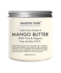 Majestic Pure Raw Mango Butter