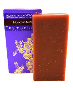 Moroccan Mudd Shampoo Bar by Beauty and the Bees Tasmania