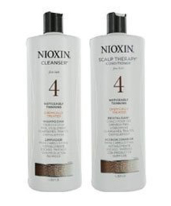 Nioxin System 4 Cleanser and Scalp Therapy Duo Set