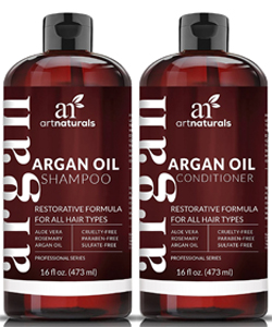 Organic Hair Growth shampoo and conditioner for men and women by DermaChange