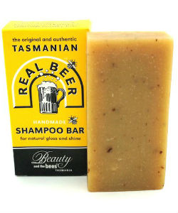 Real Beer Shampoo Bar from Beauty and the Bees