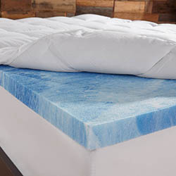Sleep Innovations 4-Inch Dual Layer Mattress Topper