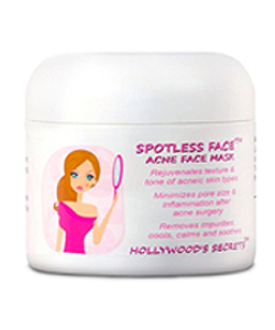Spotless Face Acne Treatment Mask with Mint and Jojoba
