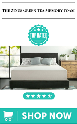 The Zinus Green Tea Memory Foam best mattress for couples