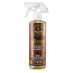 AIR_102_16 Leather Scent Premium Air Freshener and Odour Eliminator (16 oz) by Chemical Guys