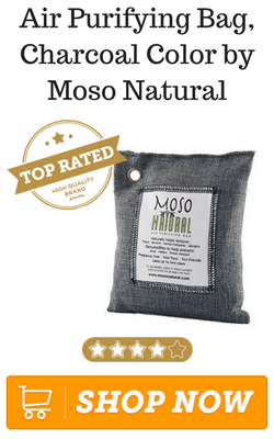 Air Purifying Bag, Charcoal Color by Moso Natural