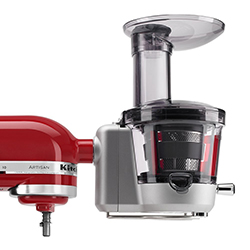 KSM1JA Masticating Juicer and Sauce Attachment, KitchenAid