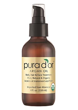 PURA D'OR 100% Moroccan Argan Oil