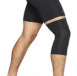Tommie Copper Men's Contoured Compression Knee Sleeve