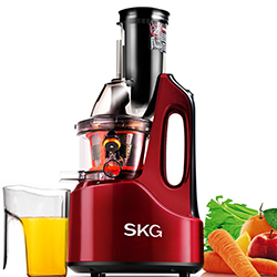 Wide Chute Anti-Oxidation Slow Masticating Juicer by SKG