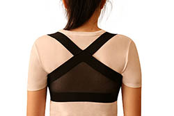 Clavicle Brace Posture Support Corrector for Men and Women by Stealth Support
