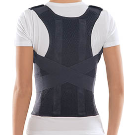 Comfort Posture Corrector and Back Support Brace 100-Cotton Liner by TOROS-GROUP