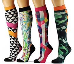 Dapperganger Moxie Edition Women's Compression Socks