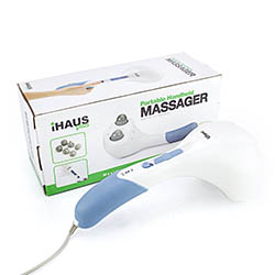 Double Head Electric Massager Percussion Action Handheld Massager