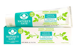 Natures Gate Natural Toothpaste