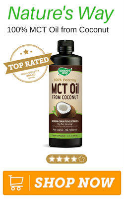 Nature's Way 100% MCT Oil from Coconut