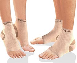 Physix Gear Sport Plantar Fasciitis Socks with Arch Support