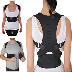 Thoracic Back Brace Magnetic Posture Support Corrector by Armstrong Amerika