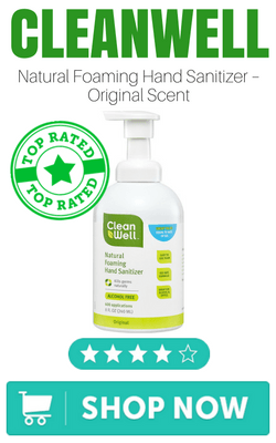 CleanWell Natural Foaming Hand Sanitizer – Original Scent