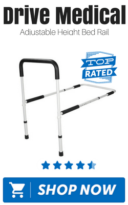 Drive Medical Adjustable Height Bed Rail