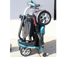EV Rider Transport Folding Travel Electric Mobility Scooter