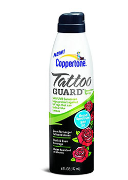 Coppertone Tattoo Guard Continuous Spray