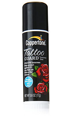 Coppertone Tattoo Guard Stick