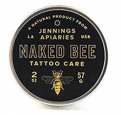 Naked Bee Tattoo Care