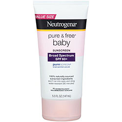 Neutrogena Pure and Free Baby Sunscreen Lotion Broad Spectrum SPF 60