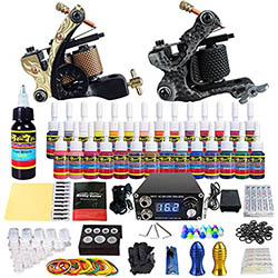 Guide to the best tattoo gun for beginners and professionals for Tattoo machine for beginners