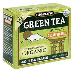 Bigelow Tea Decaf Green Organic 40 bag