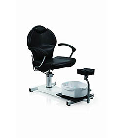 Eastmagic Pedicure Station Hydraulic Chair and Massage Foot Spa Beauty Salon Equipment