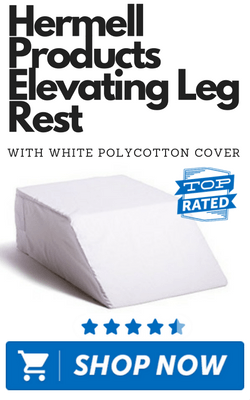 Hermell Products Elevating Leg Rest