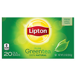 Lipton Green Tea, Pure, 10 ounce