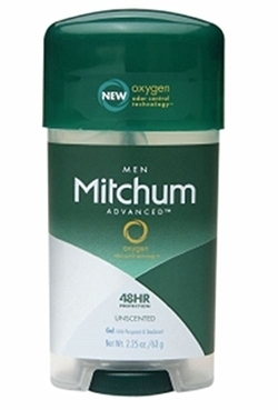 Mitchum Antiperspirant and Deodorant Unscented Power Gel