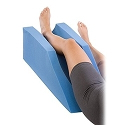 ProCare Elevating Foam Cushion Leg Rest Support Pillow