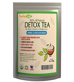 Teatox Life Skinny Teatox Mint for Detox, Colon Cleanse, and Constipation